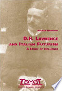 Download D.H. Lawrence and Italian Futurism Book