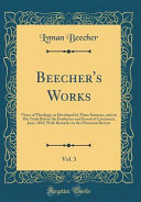Beecher S Works Vol 3