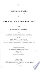 The Practical Works Of The Rev Richard Baxter