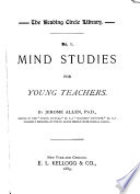 Mind Studies for Young Teachers
