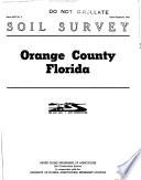 Soil Survey  Orange County  Florida