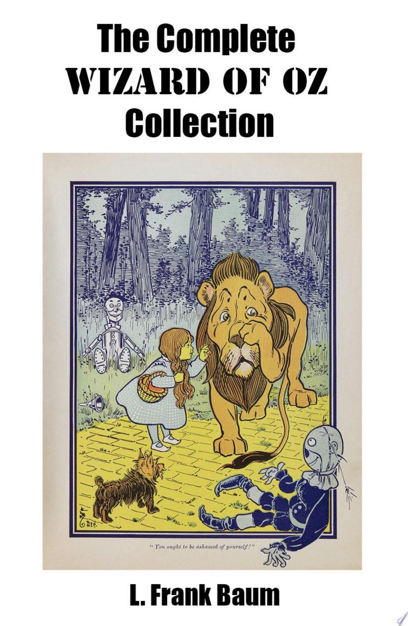 The Complete Wizard of Oz Collection (All unabridged Oz novels by L.Frank Baum) image