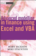 Advanced Modelling In Finance Using Excel And Vba Book PDF