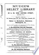 The Directory of Second hand Booksellers  and List of Public Libraries