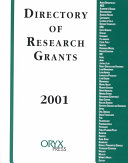 Directory of Research Grants 2001