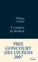 Pdf Le rapport de Brodeck Telecharger