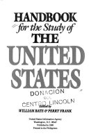 Handbook for the Study of the United States