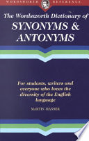 Read Online Dictionary of Synonyms and Antonyms For Free
