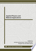 Applied Physics and Material Applications