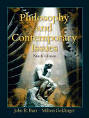 Philosophy and Contemporary Issues Book PDF