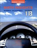 Math Insights Tb S1b Na