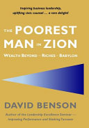 The Poorest Man In Zion Book