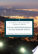 Digital Entrepreneurship in Sub Saharan Africa