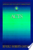 Abingdon New Testament Commentaries Acts
