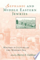 Sephardi and Middle Eastern Jewries