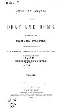 American Annals of the Deaf and Dumb