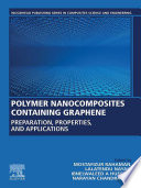 Polymer Nanocomposites Containing Graphene