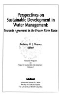 Perspectives on Sustainable Development in Water Management