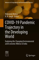 COVID 19 Pandemic Trajectory in the Developing World Book