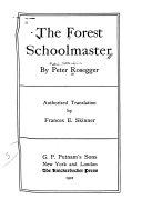 The Forest Schoolmaster