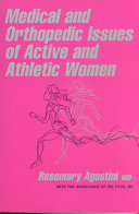 Medical and Orthopedic Issues of Active and Athletic Women Book