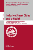 Inclusive Smart Cities and e Health