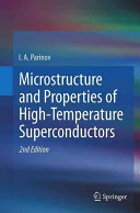 Microstructure and Properties of High Temperature Superconductors Book
