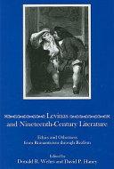 Levinas and Nineteenth-century Literature