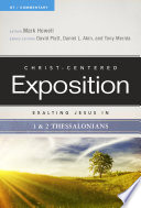 Exalting Jesus in 1   2 Thessalonians