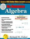 No Nonsense Algebra Book