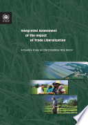 Integrated Assessment of the Impact of Trade Liberalization: A Country Study on the Colombian Rice Sector