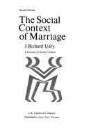 The Social Context of Marriage