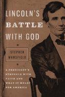 Lincoln's Battle with God [Pdf/ePub] eBook