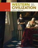 Western Civilization  Alternate Volume  Since 1300 Book