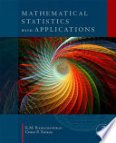 Mathematical Statistics with Applications Book