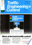 Traffic Engineering & Control