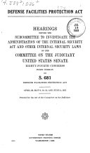 Defense Facilities Protection Act