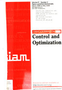 SIAM Journal on Control and Optimization Book