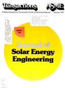 Journal of Solar Energy Engineering Book