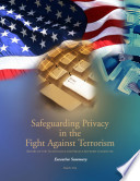 Safeguarding Privacy in the Fight Against Terrorism