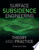 Surface Subsidence Engineering