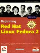 Beginning Red Hat Linux Fedora 2