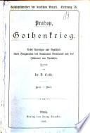 Prokop, Gothenkrieg, übers. von D. Coste