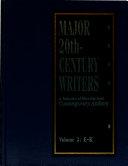 Major 20th-century Writers: E-K