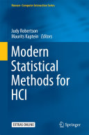 Modern Statistical Methods for HCI