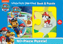 Nickeldeon Paw Patrol  Little First Look and Find Book   Puzzle