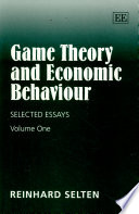 game theory and economic behaviour selected essays reinhard  front cover