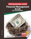 CA Inter Financial Management