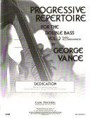 Progressive Repertoire for the double bass