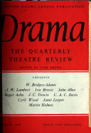 Drama   the quarterly theatre review
